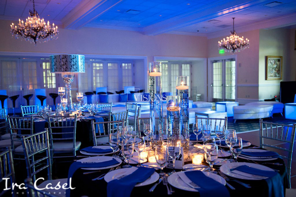 NYC Florist - Less is More - Event Design by Visions Decor